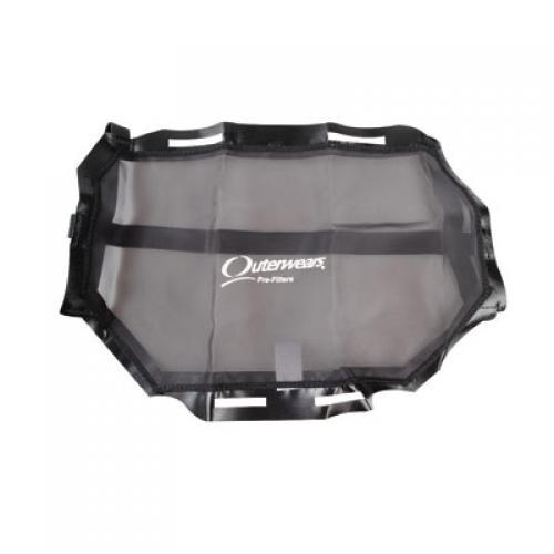 Outerwears Radiator Screen Black for Polaris RZR XP 1000 EPS LE 2014